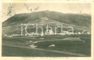 1938 ROANA (VI) Veduta di CAMPOROVERE e Monte INTERROTTO *Cartolina FP VG