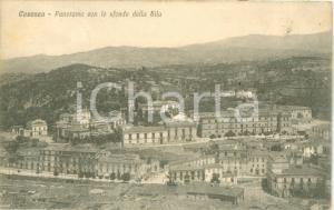 1927 COSENZA Panorama con lo sfondo della SILA *Cartolina FP VG