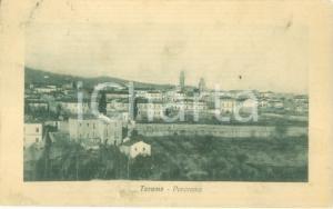 1921 TERAMO Panorama parziale della città *Cartolina FP VG