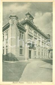 1937 ASCOLI PICENO Veduta del Palazzo delle Poste *Cartolina FP VG