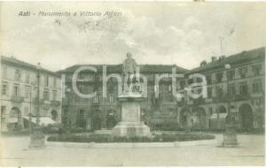 1926 ASTI Monumento a Vittorio ALFIERI *Cartolina FP VG