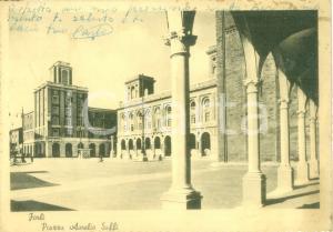 1948 FORLÌ Veduta di Piazza Aurelio SAFFI *Cartolina postale FG VG