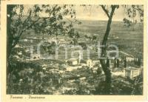 1940 ca FUMANE (VR) Panorama del paese dal colle *Cartolina postale FG NV