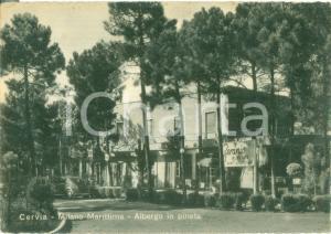1952 CERVIA (RA) Albergo GERANIO in pineta a MILANO MARITTIMA *Cartolina FG VG