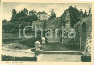 1946 ASTI Veduta delle antiche mura *Cartolina postale FG VG