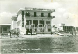 1957 PACHINO (SR) Hotel La Marinella a MARZAMEMI *Cartolina FG VG