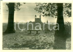1951 SCHIO (VI) Panorama dal castello in autunno *Cartolina FG VG