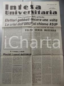 1956 PAVIA INTESA UNIVERSITARIA Elettori gabbati con il pretesto della goliardia
