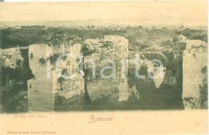 1900 ca SIRACUSA Veduta della Latomia della VENERE *Cartolina FP NV