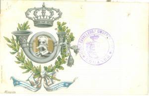 1900 ca 23° Reggimento Cavalleggeri UMBERTO I *Cartolina reggimentale FP NV