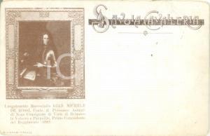 1900 ca SAVOIA CAVALLERIA Gian Michele DE ROSSI *Cartolina reggimentale FP NV