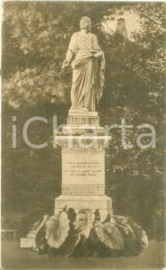1927 MANTOVA Monumento a VIRGILIO Marchesi CAVRIANI *Cartolina FP VG