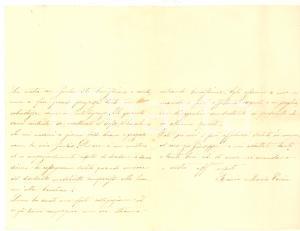 1890 CIVIDALE Lettera coniugi avv. Lucio COREN e Rosina BORGHETTI alla nonna