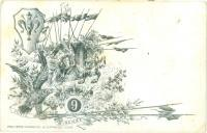 1900 ca FIRENZE 9° Lancieri di PONTE DI VERSA *Cartolina reggimentale FP NV