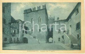1948 SANGUINETTO (VR) L'interno del Castello *Cartolina FP VG