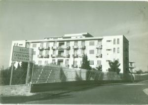1961 SASSARI Veduta di Casa Serena O.N.P.I. Cartolina postale FG VG