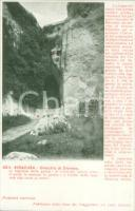 1920 ca SIRACUSA Ingresso dell'orecchio di DIONISIO *Cartolina FP NV