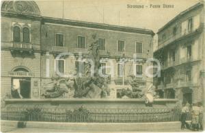 1904 SIRACUSA Fonte Diana Premiata Tipografia del Popolo *Cartolina FP VG