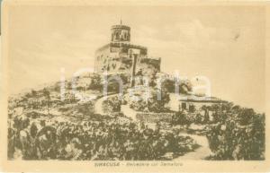 1935 ca SIRACUSA Il Belvedere col Semaforo *Cartolina postale FP NV