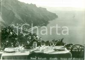 1962 RAVELLO (SA) Veduta dal ristorante dell'Hotel PALUMBO *Cartolina FG VG