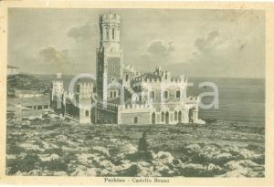 1948 PACHINO (SR) Veduta del Castello Bruno *Cartolina FG VG