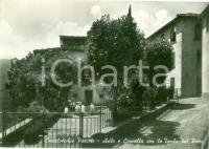 1960 ca CASTELVECCHIO PASCOLI (LU) Asillo e cappella *Cartolina FG NV