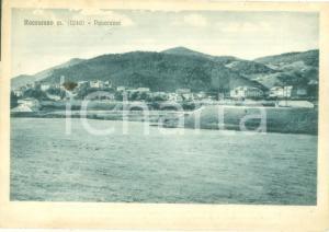 1937 ROCCARASO (AQ) Panorama generale dal campo *Cartolina FG VG