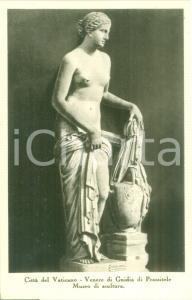 1935 ca CITTA' DEL VATICANO venere di Gnidia di PRASSITELE *Cartolina FP NV