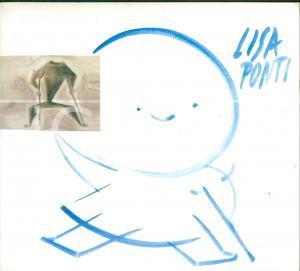 2001 MILANO Lisa PONTI Album ILLUSTRATO con fotografie e disegni
