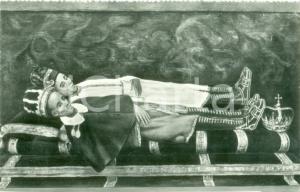 1940 ca CASTIGLIONE DI GARFAGNANA (LU) Santi di San Pellegrino in Alpe Cartolina