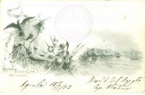 1903 36° Reggimento Fanteria di Linea *Cartolina reggimentale FP VG
