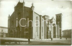 1934 ASTI Veduta della Cattedrale *Cartolina ANIMATA FP VG