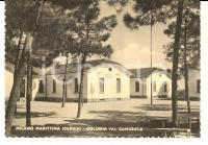 1950 ca MILANO MARITTIMA (RA) Colonia VAL CAMONICA *Cartolina postale FG VG