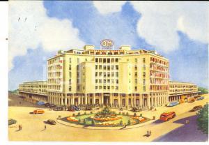 1967 PADOVA Autostazione STANGA Hotel BI-RI *Cartolina pubblicità OM SAURER FG