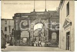 1956 MONTEROTONDO (RM) Porta Garibaldi *Cartolina postale ANIMATA FG VG