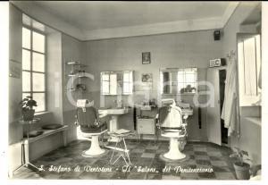 1970 ca ISOLA DI SANTO STEFANO (LT) Salone del Penitenziario *Cartolina FG NV
