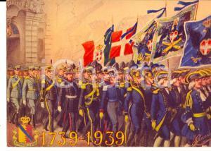1939 TORINO Scuola d'applicazione Artiglieria e Genio - Cartolina BICENTENARIO