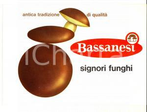 1960 ca MILANO Funghi BASSANESI Catalogo ILLUSTRATO VINTAGE 14 pp. 24x17 cm