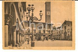 1945 VITERBO Piazza del Plebiscito e BAR CENTRALE *Cartolina ANIMATA FG VG
