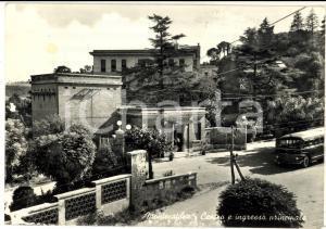 1958 IMOLA MONTECATONE Centro e ingresso principale *Cartolina FG VG