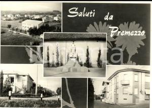 1960 ca PREMEZZO (VA) Vedutine con Circolo Cooperativo *Cartolina postale FG NV