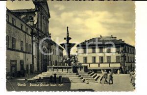 1959 VITERBO Veduta con la Fontana Grande *Cartolina ANIMATA FG VG