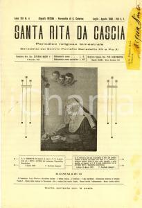 1930 RESINA (NA) SANTA RITA DA CASCIA *Bollettino parrocchia S. CATERINA n° 4