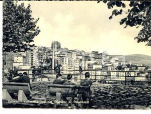 1964 POTENZA Panorama visto dal belvedere di MONTEREALE *Cartolina FG VG
