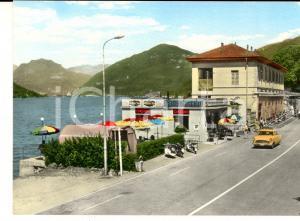 1960 ca PORTO CERESIO Confine italo-svizzero *Cartolina pubblicità CINZANO FG NV