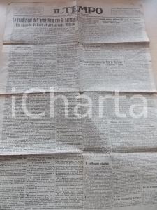 1915 IL TEMPO Le condizioni dell'armistizio con la Germania *Giornale n° 314