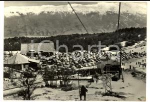 1965 OVINDOLI (AQ) Stazione di partenza della seggiovia *Cartolina FG VG