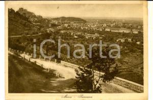 1938 MASSA (MS) Panorama generale *Cartolina POSTALE FG VG