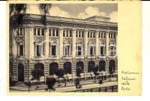 1937 CATANIA Facciata del Palazzo delle Poste *Cartolina postale FG VG