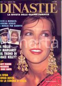 1986 DINASTIE  Lady Diana presenta i suoi abiti *Rivista ILLUSTRATA Anno I n° 1